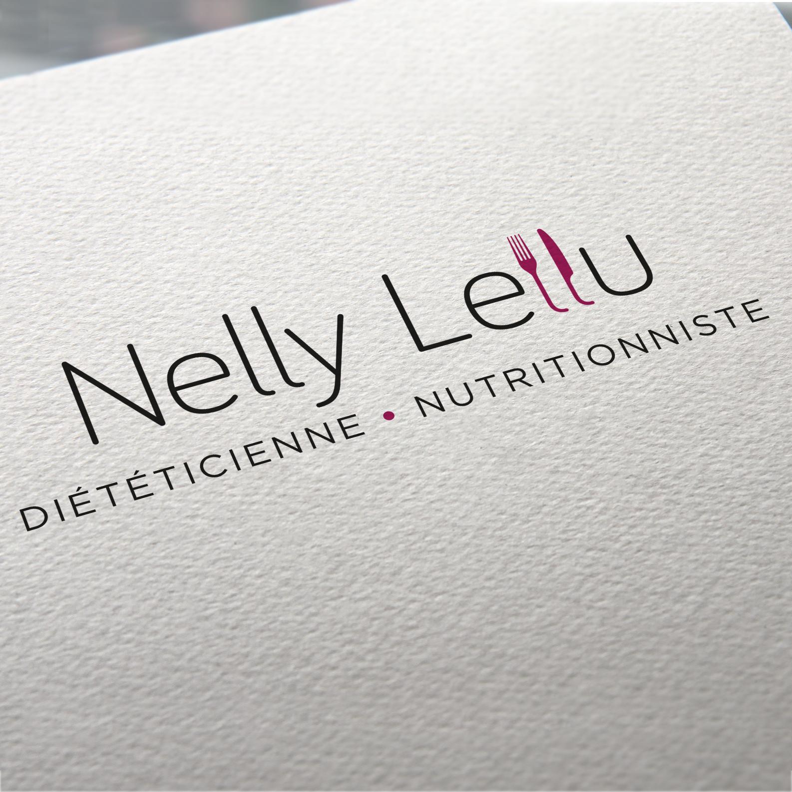 Nelly Lellu - Diététicienne Nutritionniste - Logo